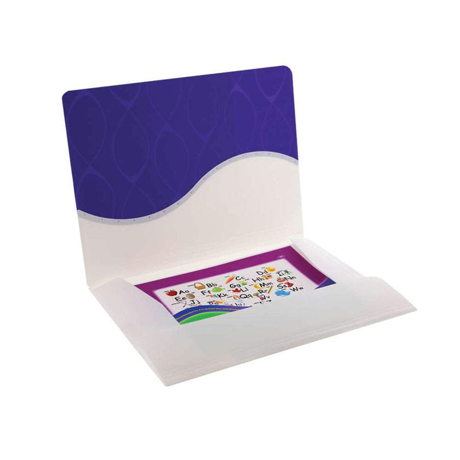 Letter Size Document Holder w/ Elastic Band