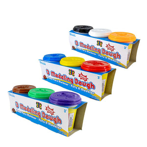 5 Oz. Multi Color Modeling Dough (3/Pack)