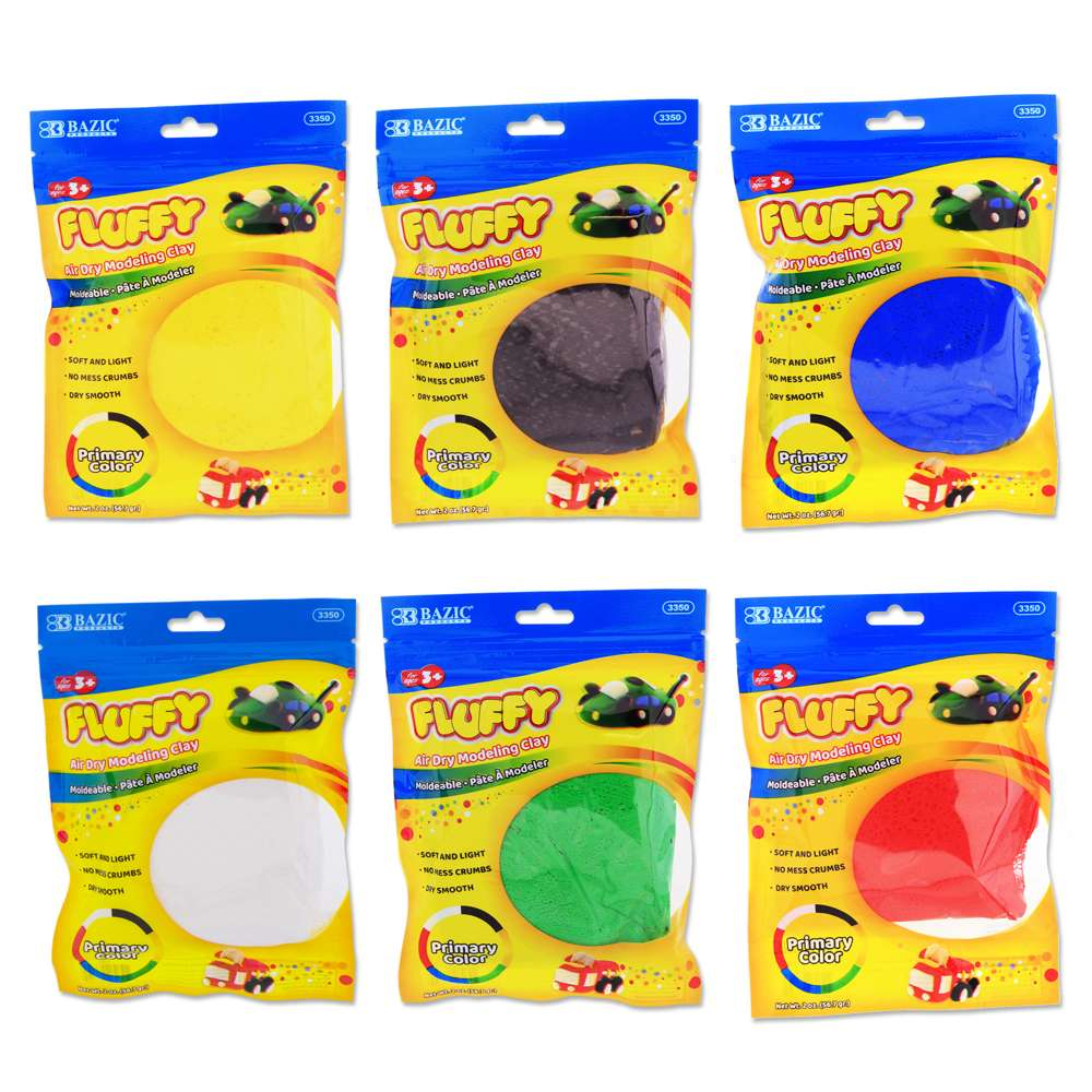 2 Oz. Primary Colors Air Dry Modeling Clay