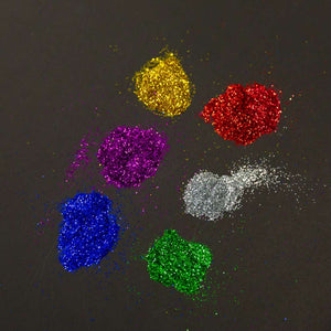 22g / 0.77 Oz. Primary Color Glitter Tubes