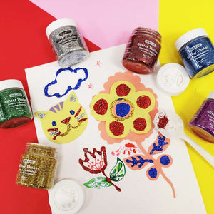 56.6g / 2 Oz. Primary Color Glitter Shaker