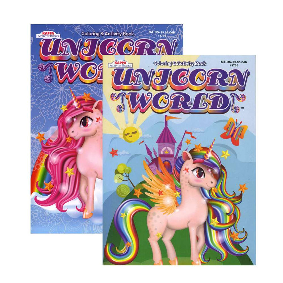 KAPPA Unicorn World Coloring & Activity Book