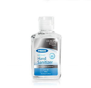 PASCO 70% Alcohol Hand Sanitizer w/ Aloe & Moisturizers (2 fl. oz)