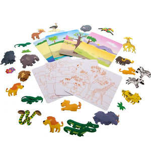 Animal Series Assorted Sticker (80/Bag) - Bazicstore