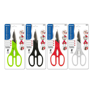 "8"" Kitchen Stainless Steel Scissors - Bazicstore"