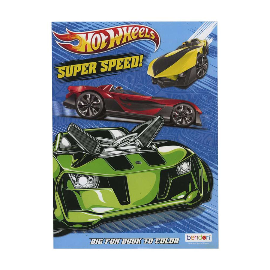 HOT WHEELS Coloring Book