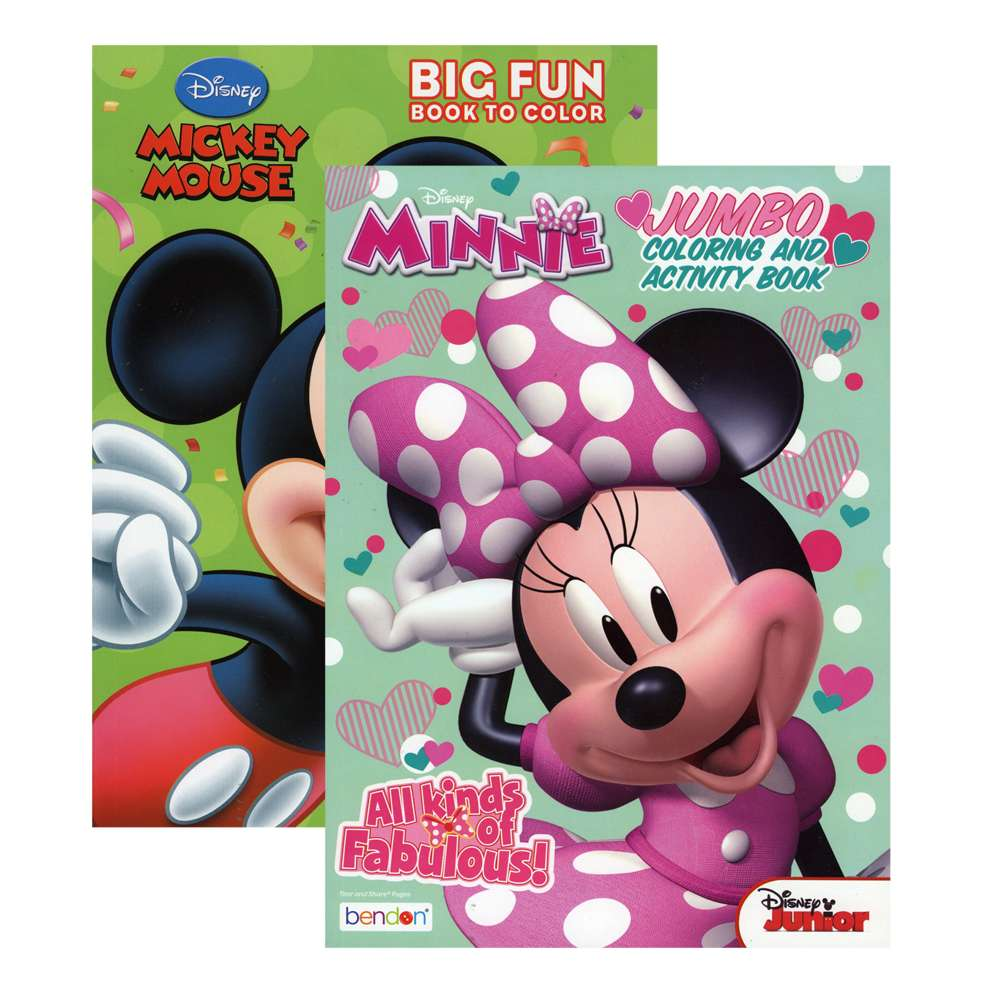 # 4576136 MICKEY & MINNIE Coloring Book