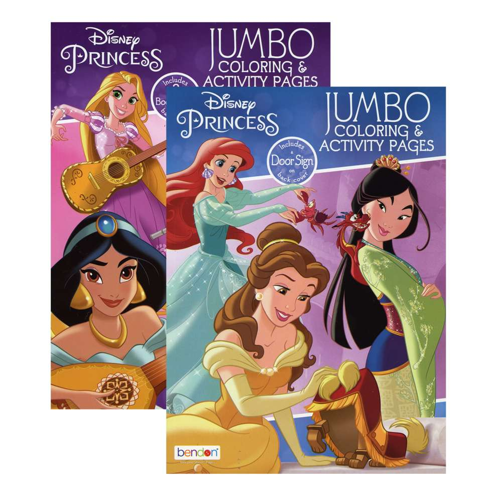 DISNEY PRINCESS Coloring Book - Bazicstore