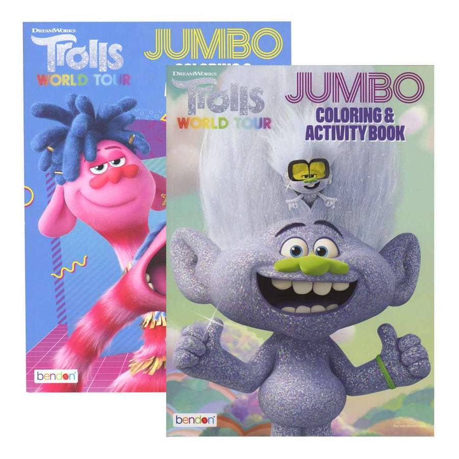 TROLLS 2 Coloring Book