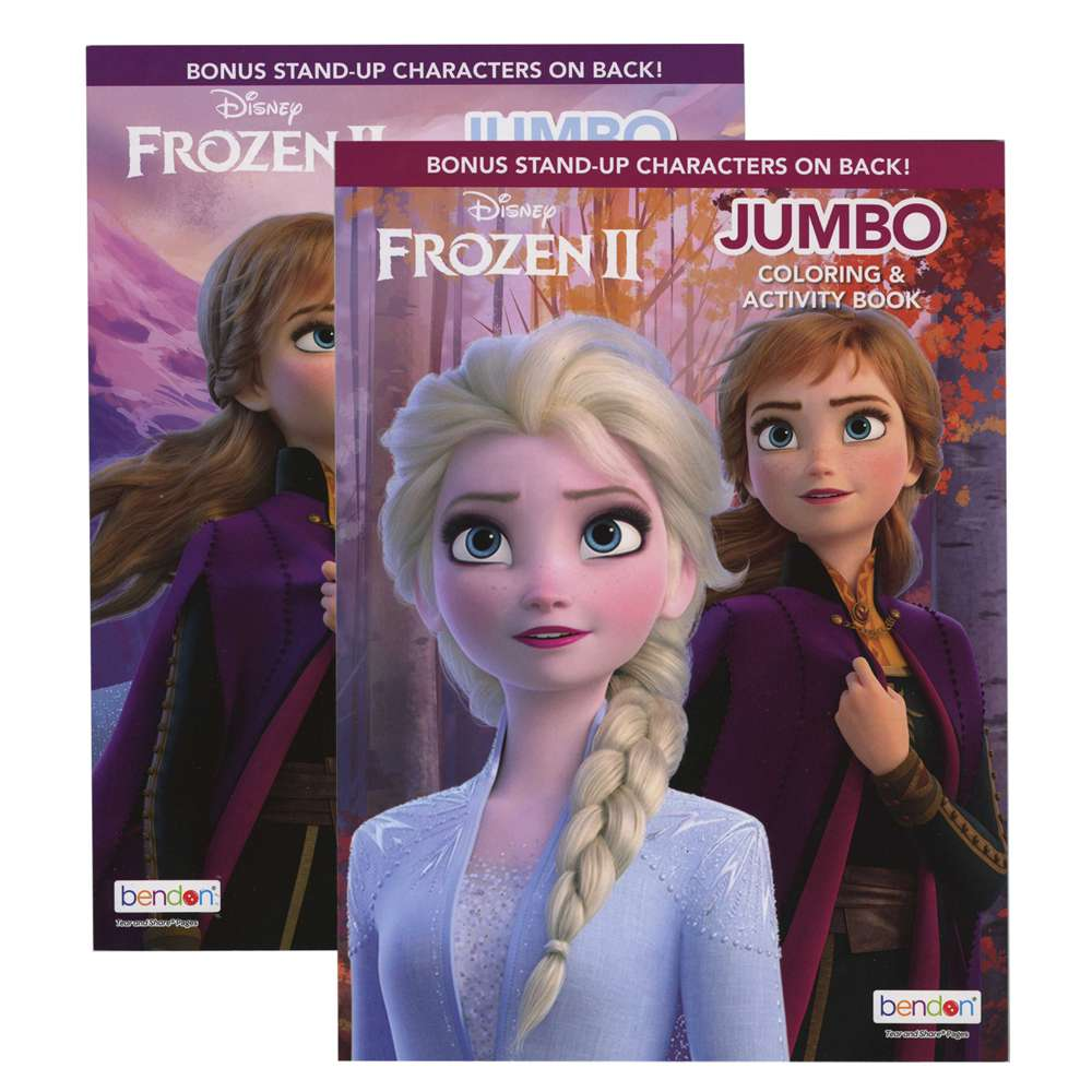 FROZEN 2 Coloring Book