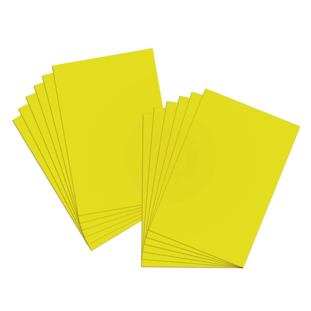 "22"" X 28"" Yellow Poster Board (25/Box) - Bazicstore"