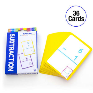 Subtraction Flash Cards (36/Pack)