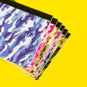 C/R 100 Ct. Camouflage Composition Book
