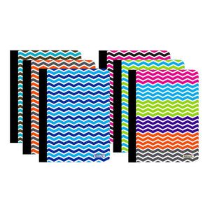 C/R 100 Ct. Chevron Composition Book - Bazicstore