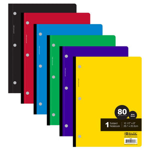 W/R 80 Ct. 1-Subject Wireless Notebook - Bazicstore