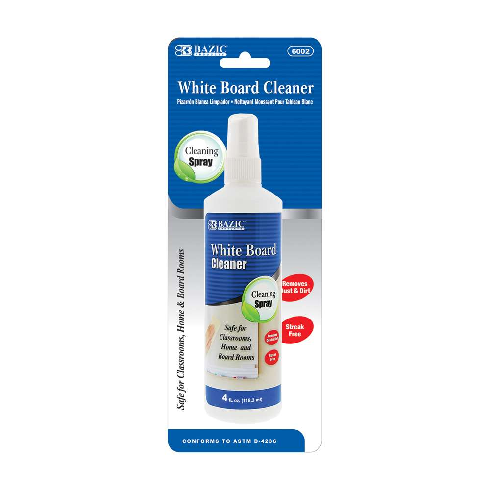 4 Oz. White Board Cleaner - Bazicstore