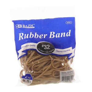 2 Oz./ 56.70 g #32 Rubber Bands - Bazicstore