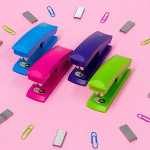 Bright Color Standard (26/6) Stapler w/ 500 Ct. Staples - Bazicstore
