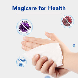 Magicare 75% Alcohol Wipes (80/Pack)