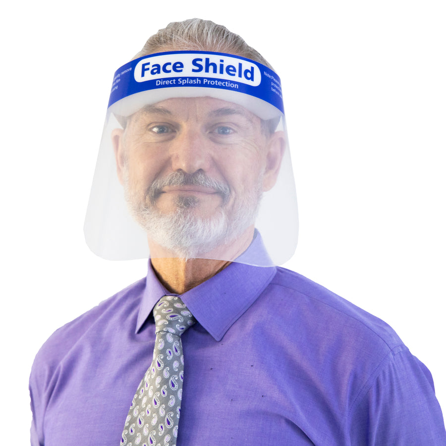 Protective Face Shield w/ Comfort Sponge - FREE SHIPPING