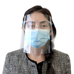 Double-Sided Anti Fog Goggle Face Shield, Safety Protect Eyes and Face - Bazicstore