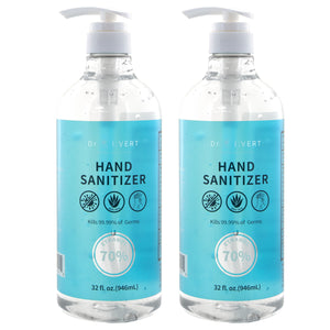 Hand Sanitizer w/ Aloe Vera 70% Alcohol (32 fl oz) - Bazicstore