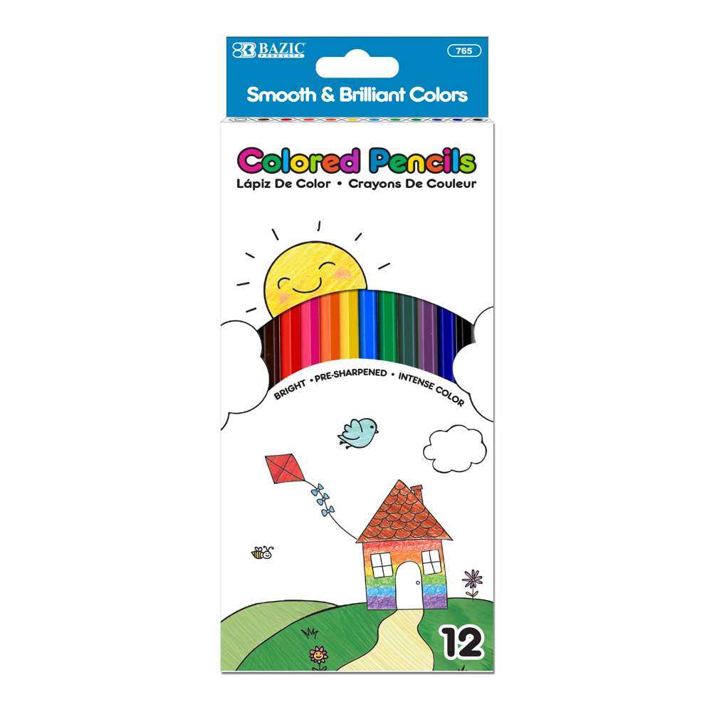 12 Color Pencil - Bazicstore