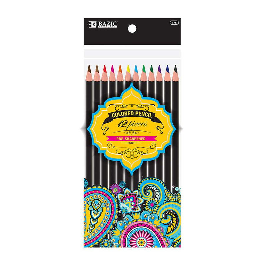 12 Color Pencil Designer Series
