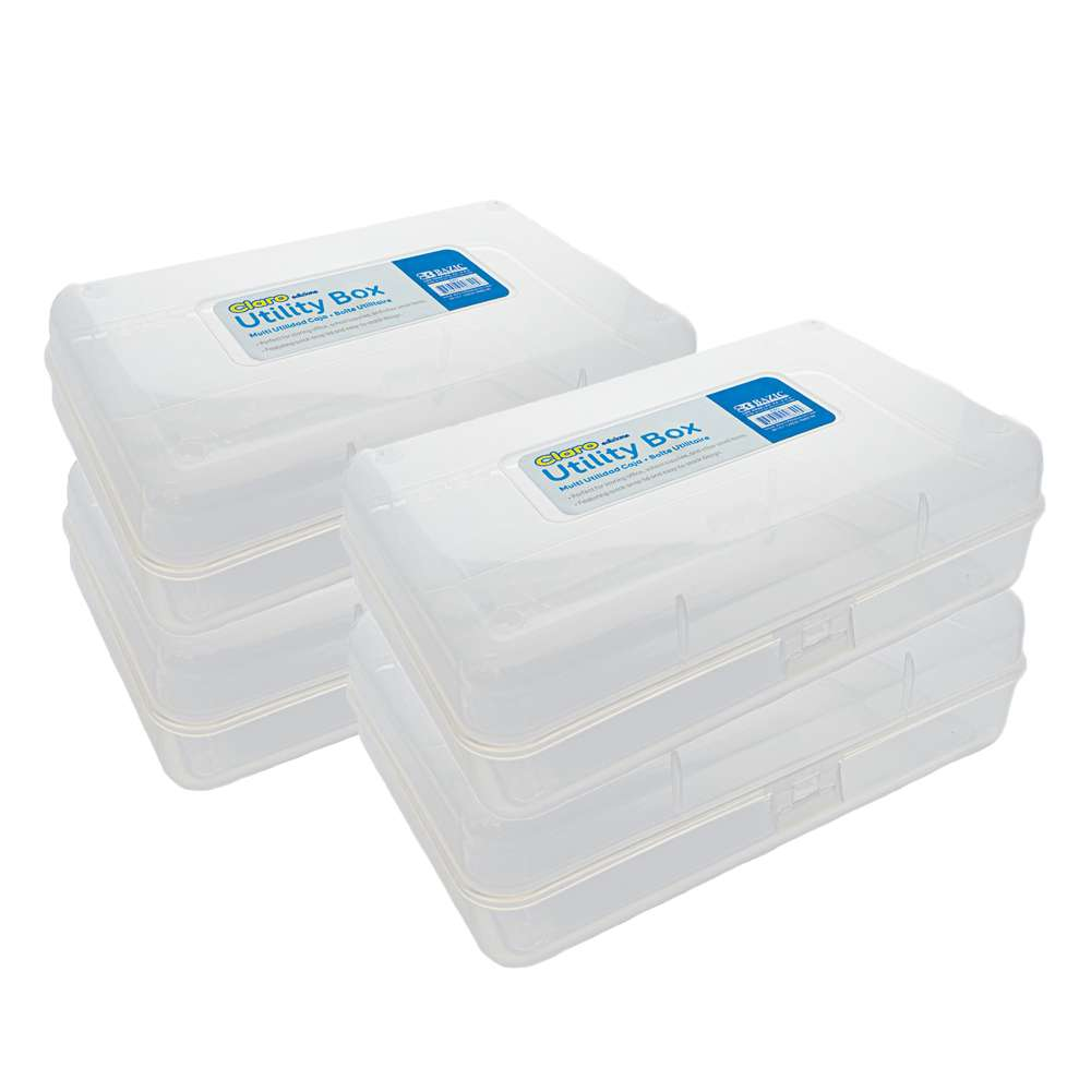 Clear Multipurpose Utility Box - Bazicstore