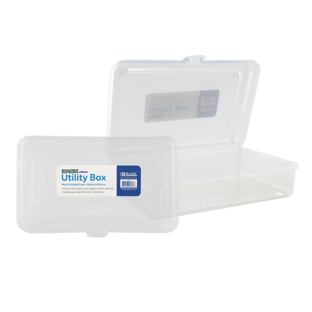 Basix Clear Multipurpose Utility Box - Bazicstore