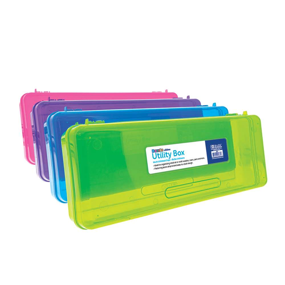Bright Multipurpose Ruler Length Utility Box
