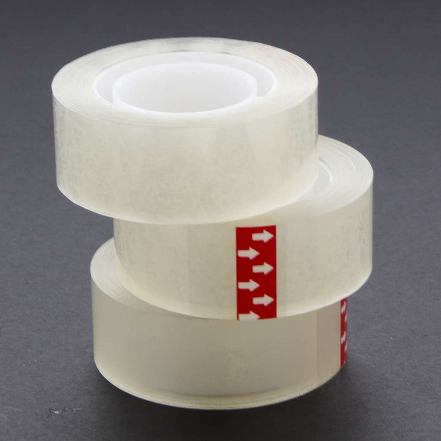 "3/4"" X 1000"" Transparent Tape Refill (3/Pack) - Bazicstore"