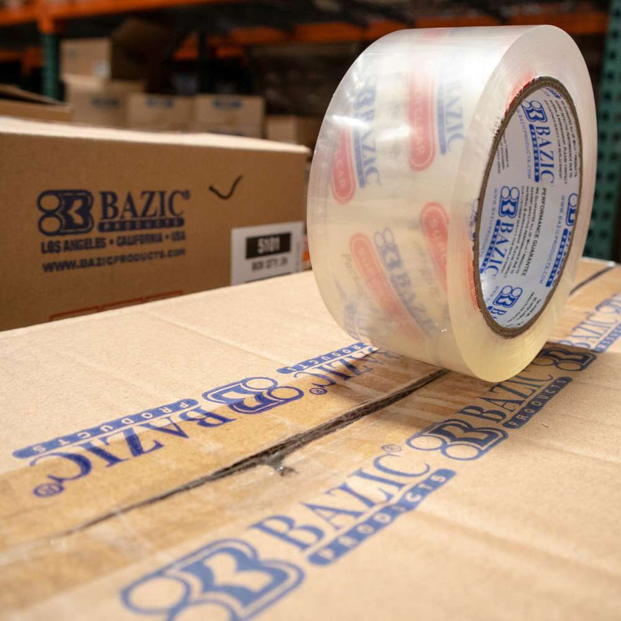 "1.88"" X 109.3 Yards Clear Packing Tape - Bazicstore"