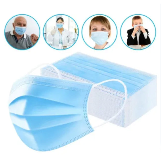 3-PLY Protective Disposable Face Mask (Total 2000 Units)