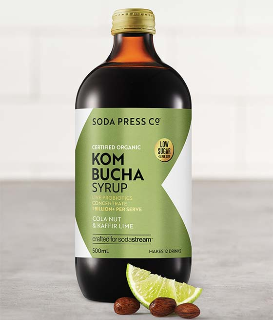 Organic Kombucha Concentrate - Cola Nut & Kaffir Lime