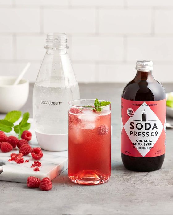 Organic - Raspberry & Mint (soda & mixing syrup)