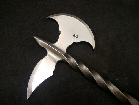 BKS Steel Halfted War Axe