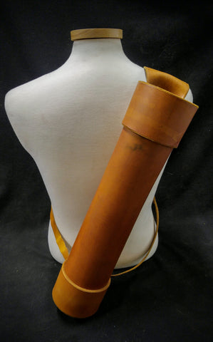 Basic Handmade Leather Back Quiver