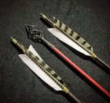 "Hand Fletched Fire Arrows (30 - 35# @ 31"") (Set of 3)"