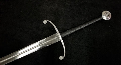 BKS Longsword With Wheel Pommel & Forged Crossguard (Blunt)