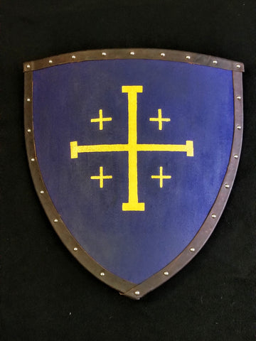 Custom - Jerusalem Cross Heater Shield