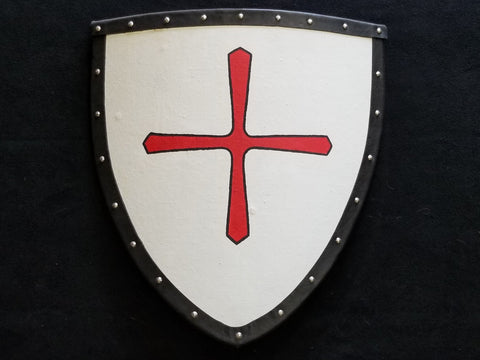 Custom - Heater Shield with Templar Cross