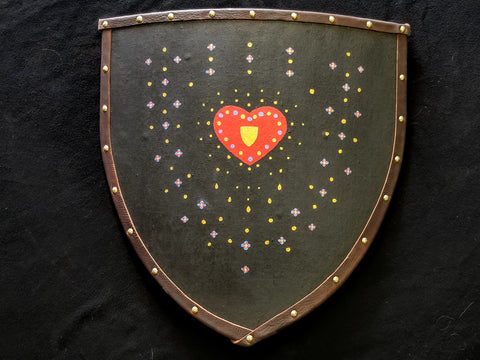 Custom - Exploding Heart Heater Shield