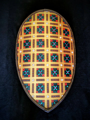 Custom - Norman Kite Shield (Small) - Slavic Pattern