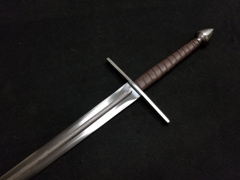 BKS Hand & Half Sword - Flat Guard with Fuller (Blunt)