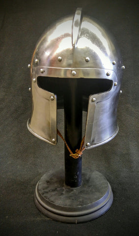 T-Face Barbute Helmet