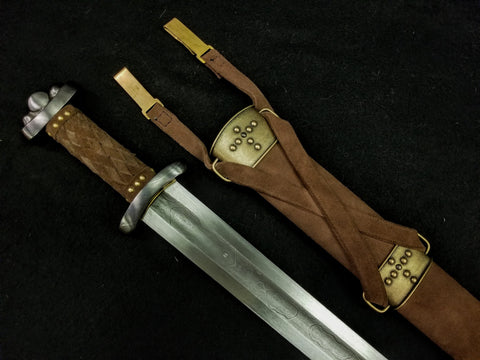 Godfred Viking Sword - Damascus Steel