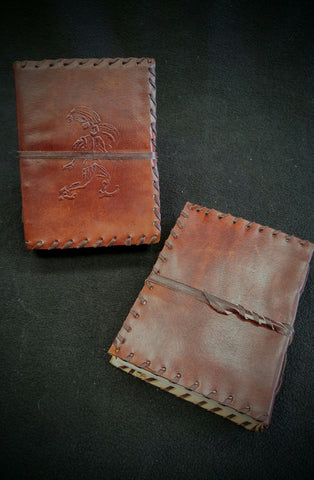 Medium Jester Leather Journal