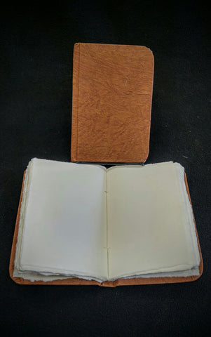 Small Hard Cover Leather Book