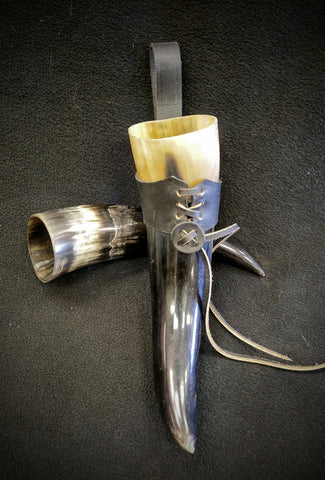Small Viking Mead Horn